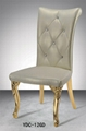 Queen back soft high density fabric dining chair 3