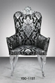 Queen back soft high density fabric dining chair 5