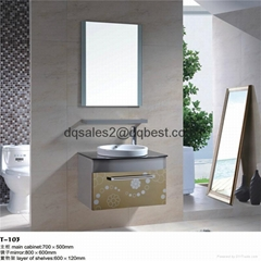 Stainless Steel Bathroom Cabinet T-108