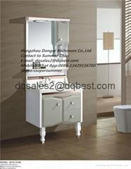 PVC painted good price bathroom vanities with mirror