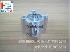 厂家直销薄型气缸CQ2B25-15D