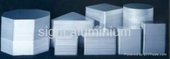 Traffic light aluminium circle aluminum disc suppliers in China