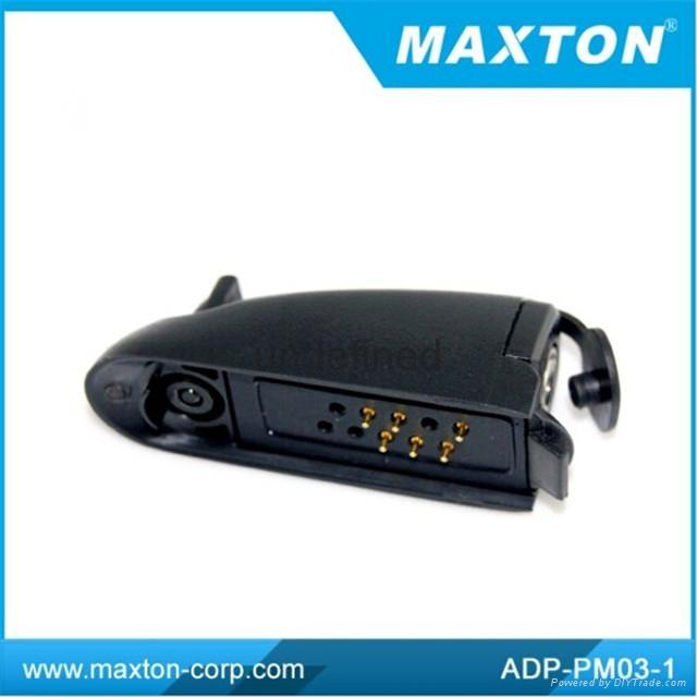 Maxton walkie talkie earphone adapter 1