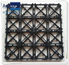 PB-01 Upgrade White Plastic Base for WPC deck tiles