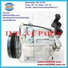 DKV10R auto aircon  Zexel A/C Compressor for Subaru Forester Impreza
