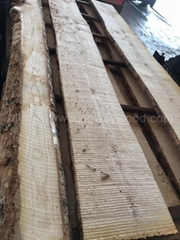 欧洲白蜡木毛边板材 长料