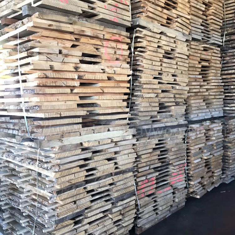 欧洲白蜡木毛边板材 长料 5