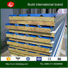 insulated rock wool sandwich panel
