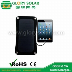 6.5W solar charger for phone