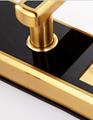 2016 Design Electronic Fingerprint Password Hotel Digital Door Handle LocK 4