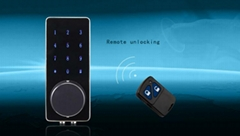 touch screen remote control code lock