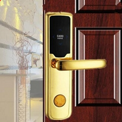 China factory cheap rfid hotel doorlock Hotel Electric Doorlockcard security han