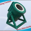 Tilting Precious Metal Smelting Furnace