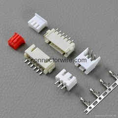 Box Shaped Shrouded Header Wire To Board Crimp Style Connectors Alternate JST XH