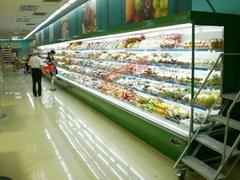 供應FMG-2.0M風冷5層水果店展示櫃
