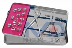 Rubber Dam Kit Dental Surgical Instruments 13 pcs