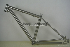wholesale titanium MTB bicycle frame