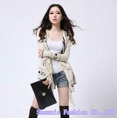 2015 summer new Korean female sunscreen clothing sweater cardigan coat thin shor