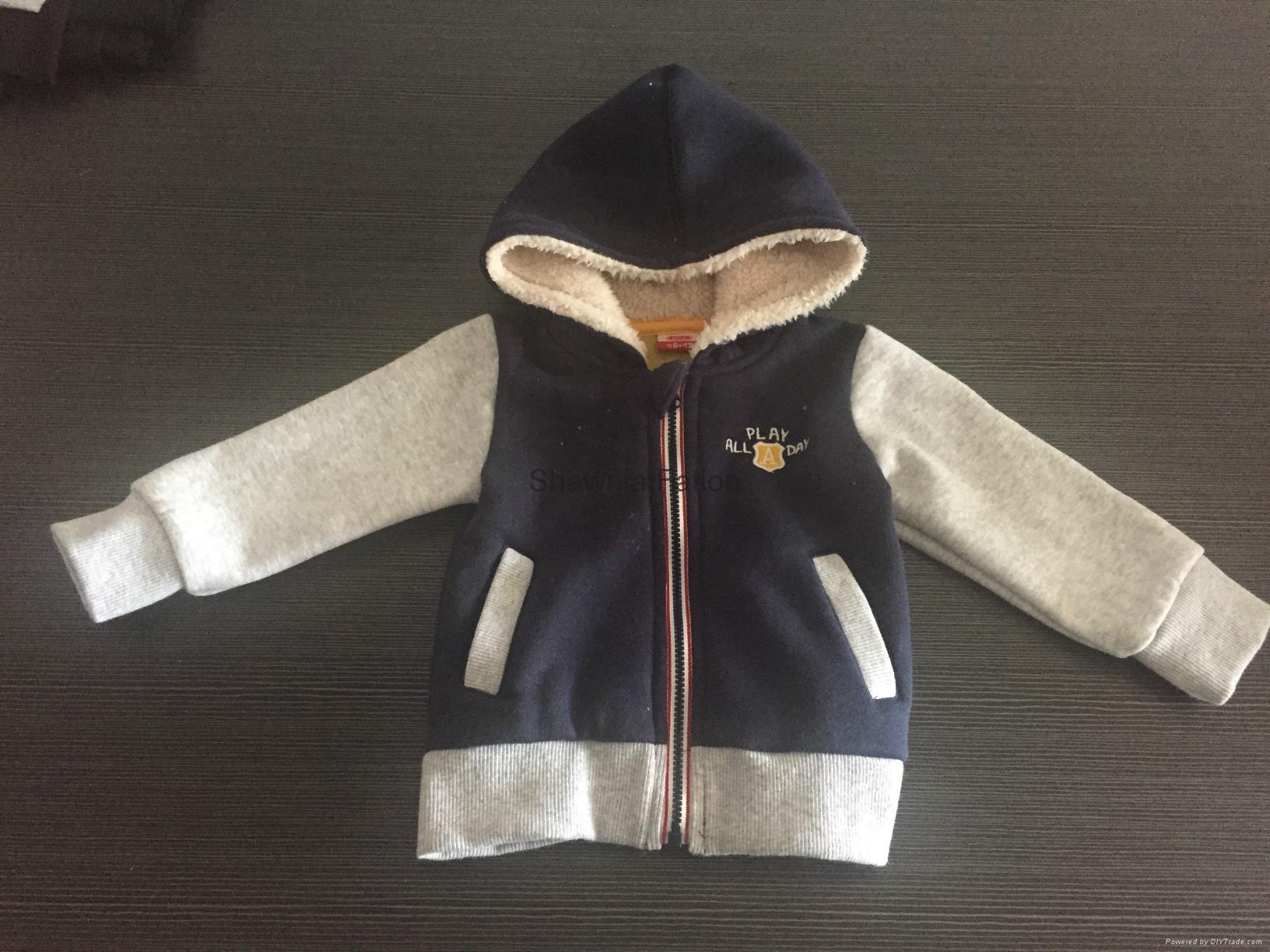 童秋冬裝套裝新款中大童衛衣連帽衫 2