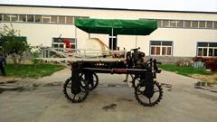 轮距可调型四轮喷药机