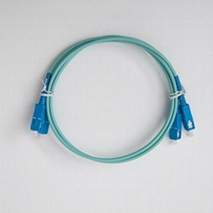 SC-SC Multi-mode 50/125 OM3 Fiber Optic Patch Cord