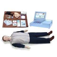 CPR690大屏幕液晶彩顯高級電腦心肺復甦模擬人