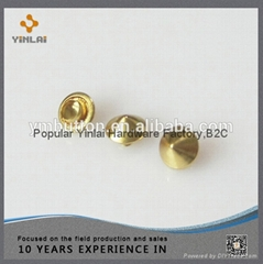 Fashion metal mushroom rivet for handbags