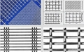 differet types of cripmed wire mesh