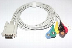 DMS 300-3 Holter 7 lead ECG leadwires