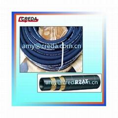 SAE100 R2at Steel Wire Braided Hydraulic Hose