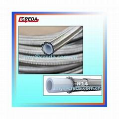 SAE100 R14 Steel Wire Braids Hydraulic Rubber Hose