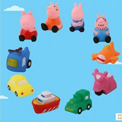 Bath toy pinching called children suit evade glue transportation