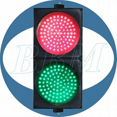 Unique design wide voltage led traffic light