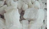 Acid pickling white baryte lumps