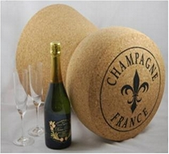 Champange cork stool