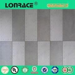 Fiber cement board roofing