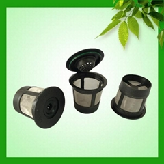 Biodegradable K-cup coffee filters type for keurig machine