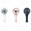 HandFan portable usb lithium battery operated colorful led light water spray fan 1