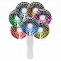 HandFan handy usb power bank charge color led mini fan 1