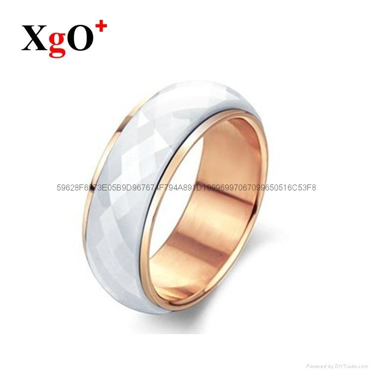 直銷陶瓷 外貿出口禮品時尚套裝戒指 5