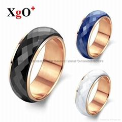 直销陶瓷 外贸出口礼品时尚套装戒指