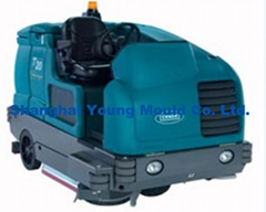 rotomoulding cleaning machine