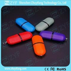 pill shape 4gb usb flash drive