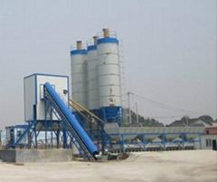 供应 HZS120混凝土搅拌站