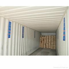Container Dry Poles Calcium Chloride Container Desiccant