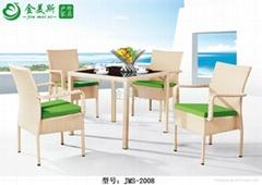户外休闲餐桌椅 藤艺家具