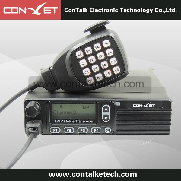 Contalketech DMM80 VHF Analog and Digital Dual Mode Mobile DMR Radio