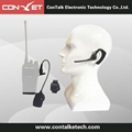 ContalkeTech Walkie Talkie Two Way Rdio Wireless Bluetooth Earpiece Motorola