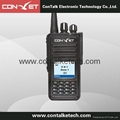 ContalkeTech CTET-DM370 DMR Digital 2 Way Radio UHF400-470MHz with Color LCD
