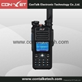 ContalkeTech Dual Band DMR Radio UHF and VHF Digital Walkie Talkie with  3000CH